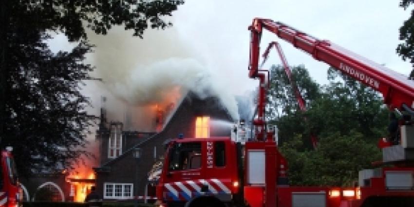Foto van brand Waalre | Willy Smits | www.112journaal.nl