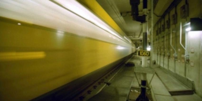 Treinverkeer Schiphol korte tijd plat vanwege rokende wc