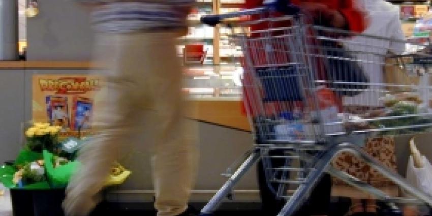 Verkoop van drank apart in supermarkt
