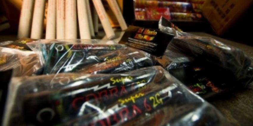 400 kilo illegaal vuurwerk in woning