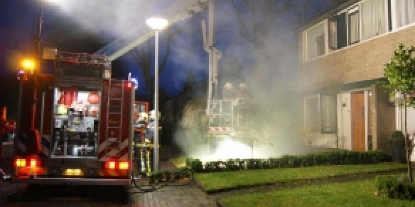 Op eerste kerstdag 'gezellig' met de brandweer rond de open haard