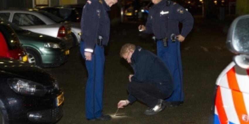 Politie lost waarschuwingsschoten bij aanhouding Schiedam