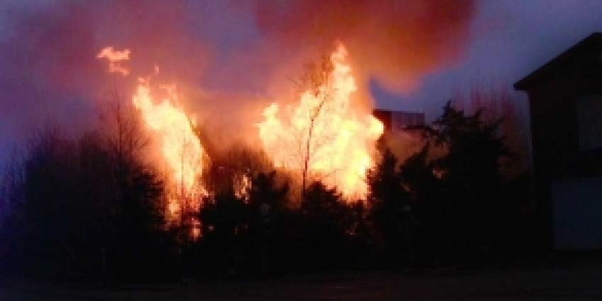Woning in Aalsmeer verwoest door brand