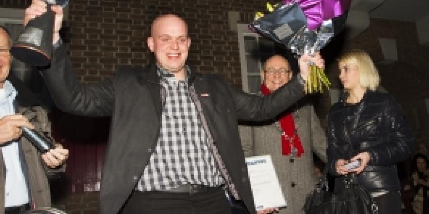 Darter ''Mighty Mike'' op de Markt in Boxtel gehuldigd