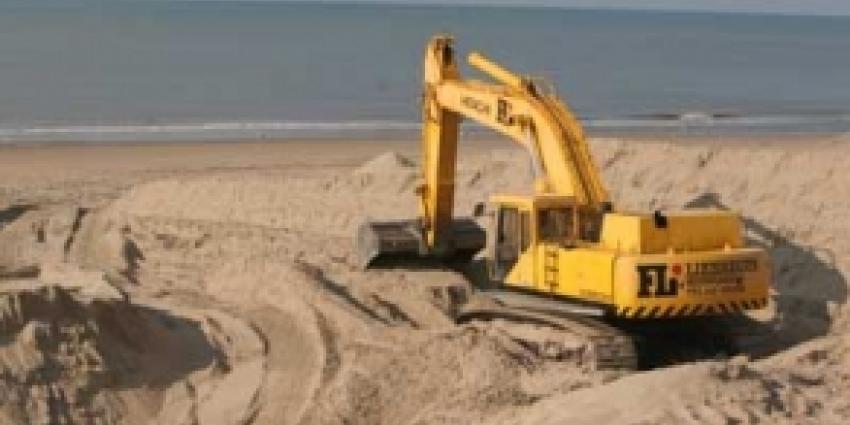 Ruim 28 miljoen kuub zand voor kustversterking