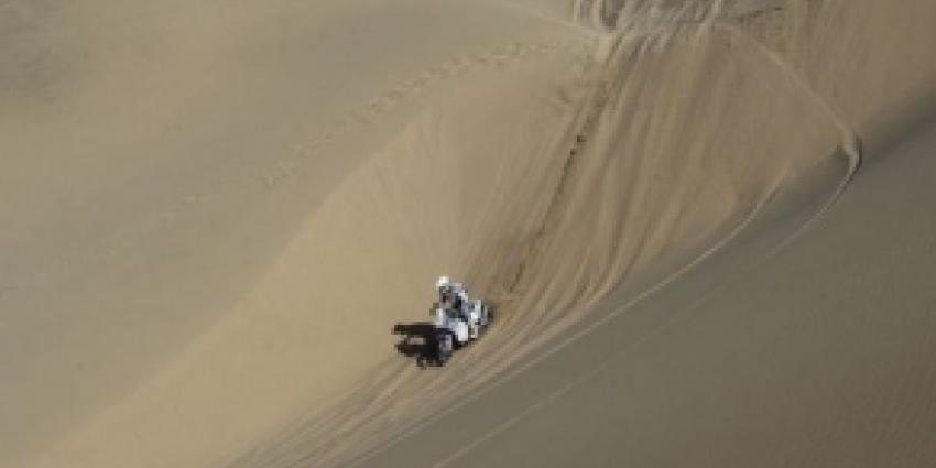 Lange dag voor BAS Dakar Team