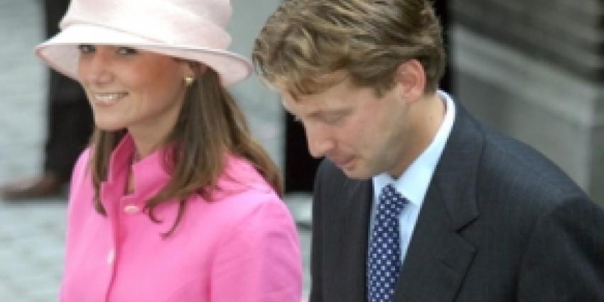 Half juli verwachten prins Floris en prinses Aimée derde kindje