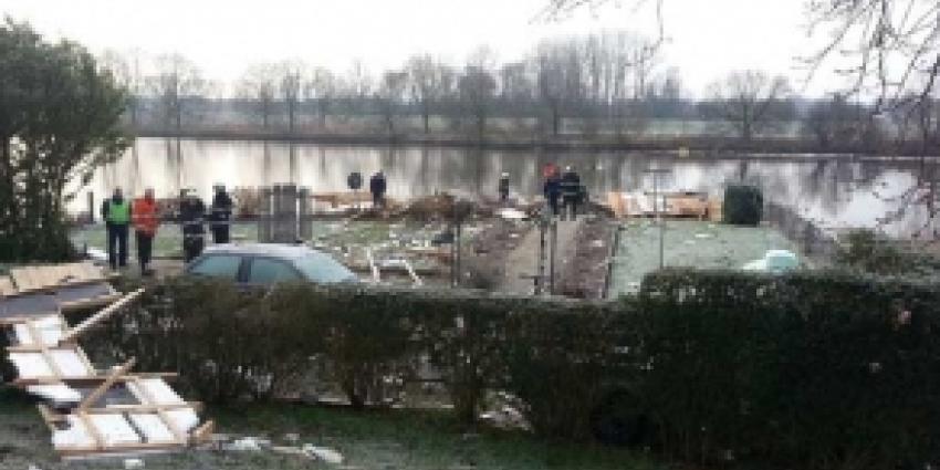 Ongeval ontploffing woonboot Zwolle waarschijnlijk door gas