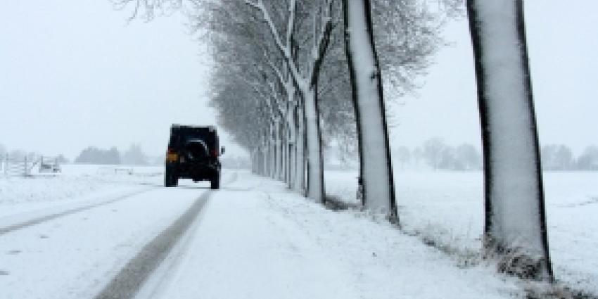 Sneeuwfront in aantocht vrijdag boven Nederland