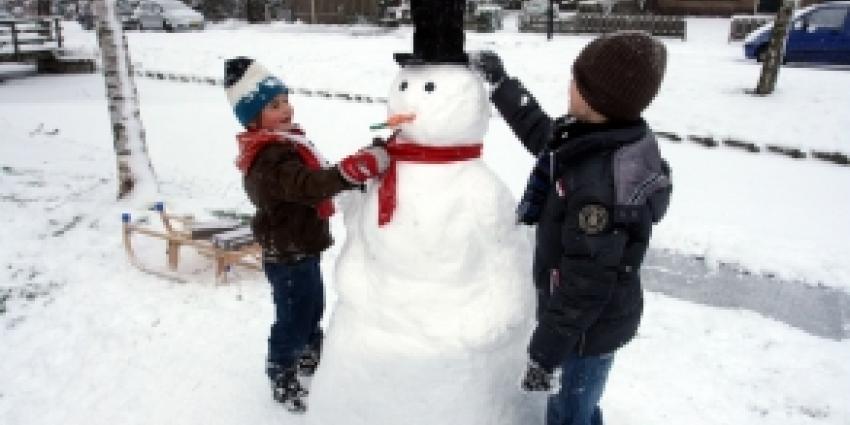 Veel sneeuw kent ook zijn leuke kant