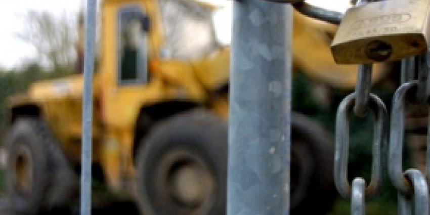 Gestolen shovel teruggevonden met Track & Trace