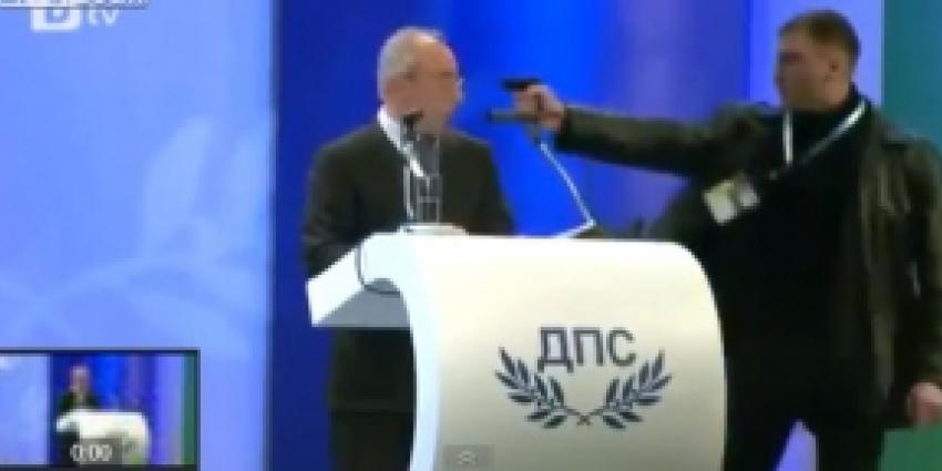 Pistool weigert bij moordaanslag op Bulgaarse politicus