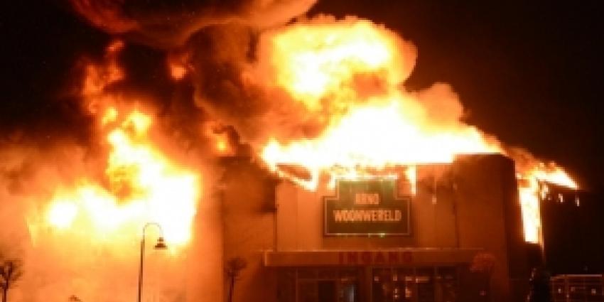 Mogelijk pyromaan actief in Enschede