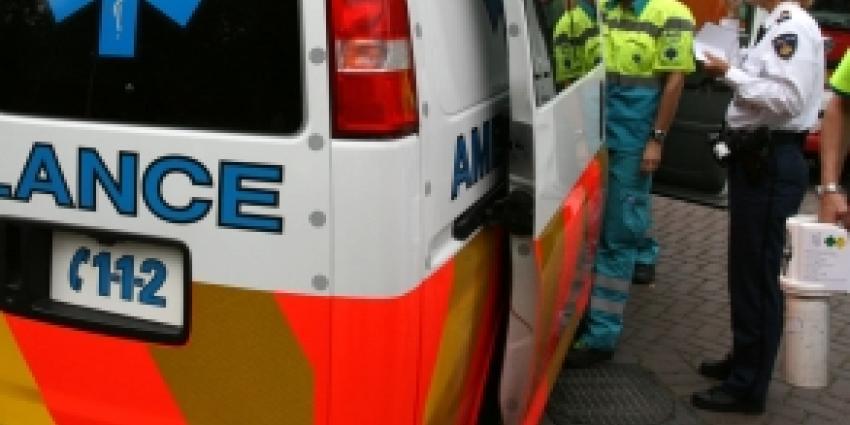 Drie gewonden bij frontale aanrijding in Meppel