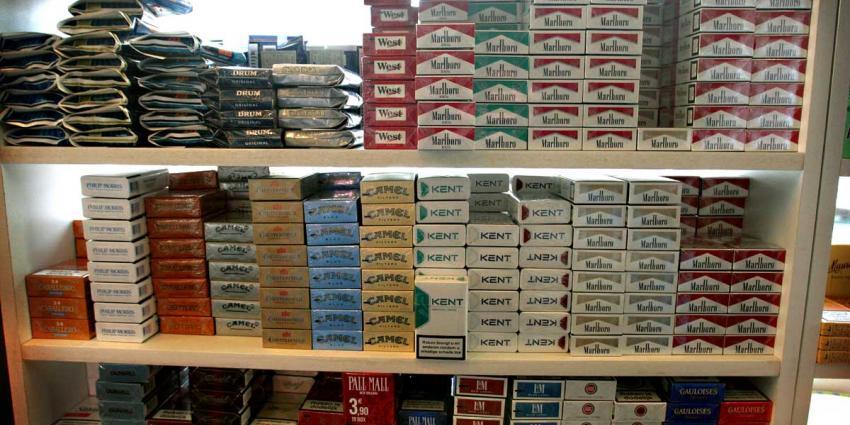 Pakje sigaretten wordt mogelijk blanco