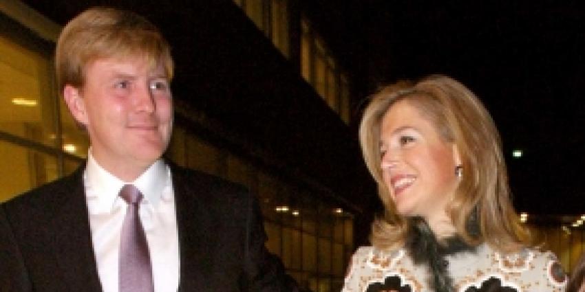 Foto van prins Willem-Alexander en Maxima