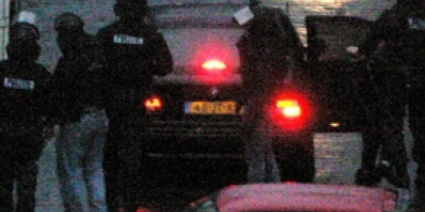 Foto van arrestatieteam | Archief FBF.nl