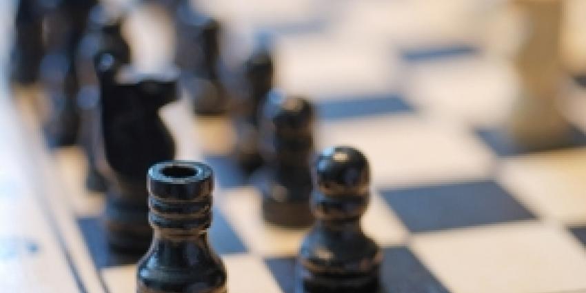Schaker neer bij full contact schaken