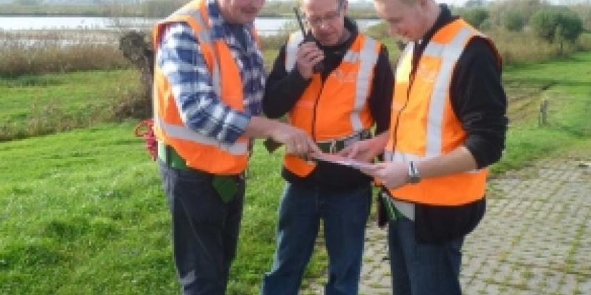 Dijkwachters gaan oefenen in Groot Salland