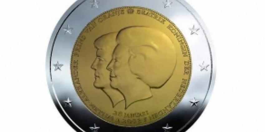 Twintig miljoen Twee-euromunten met 'dubbele kop'
