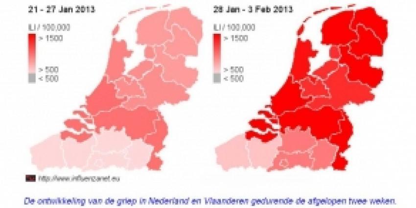 Fikse griep voor Nederlanders en Belgen