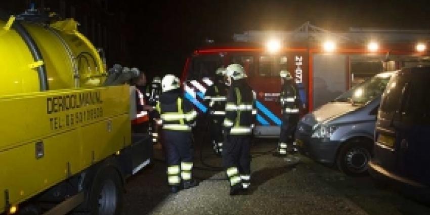Rioolman blust autobrand in Esch