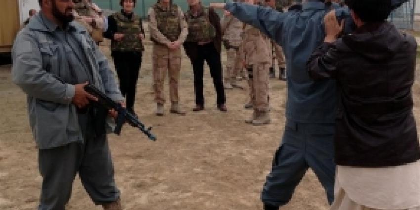 Politietraining in Afghanistan | Defensie