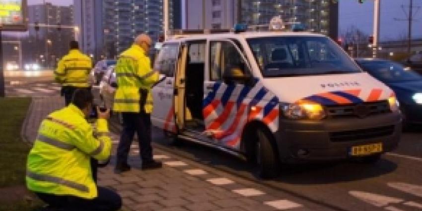 Politieauto betrokken bij aanrijding