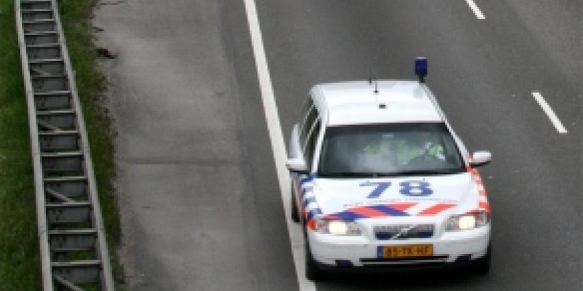 Voetganger overleden bij aanrijding op A1