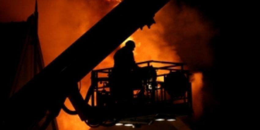 Zeer grote brand in historisch hotel Bergen op Zoom