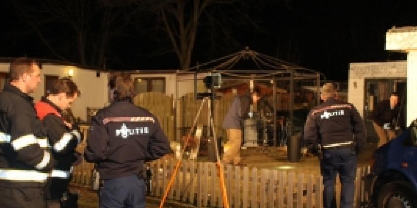 Agenten op camping Heeze met spijkers beschoten