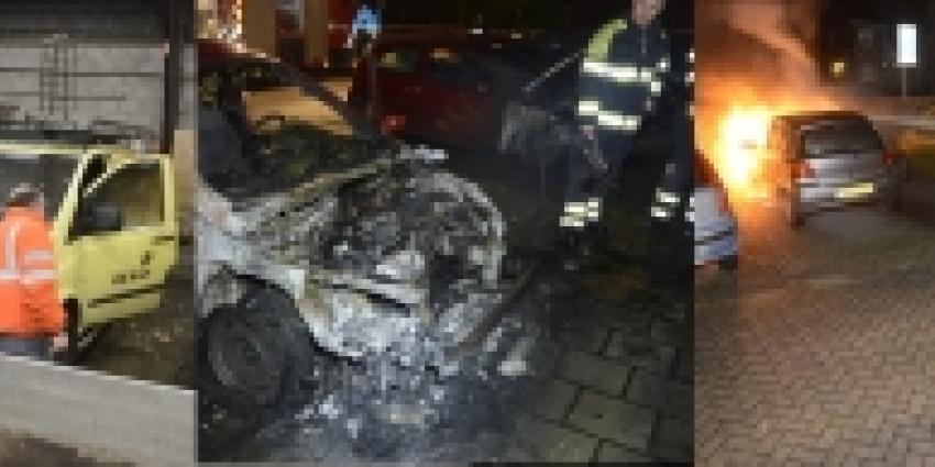 Tiener aangehouden voor reeks autobranden in De Bilt