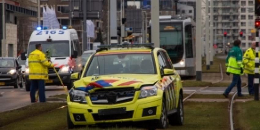 Ambulancedienst raakt betrokken bij aanrijding