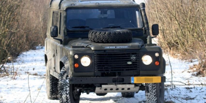 Land Rover Defender op stroom!