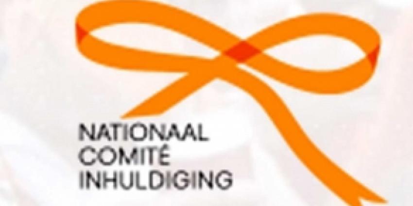 Oranje strik logo inhuldiging