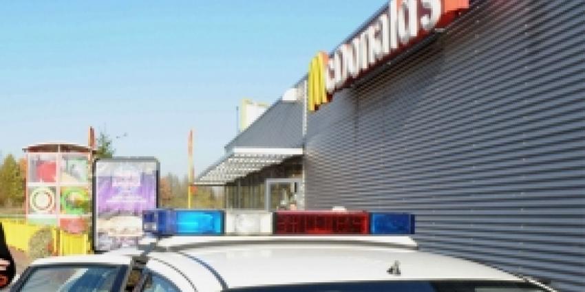 Verwarde vrouw dreigt met miltvuur bij McDonalds