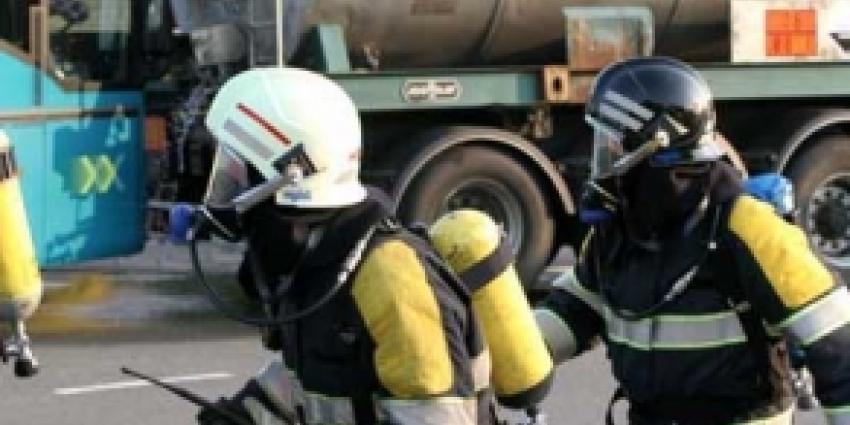 Drie gewonden door ammonialekkage bij bedrijf Amsterdam Noord