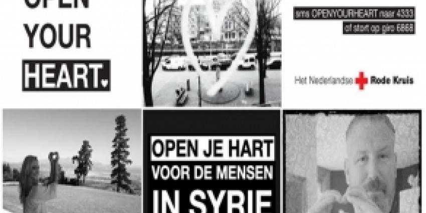 Rode Kruis start nieuwe campagne voor de slachtoffers in Syrië