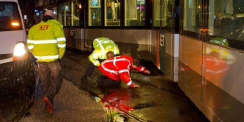 Twee trams in Rotterdam op elkaar gebotst