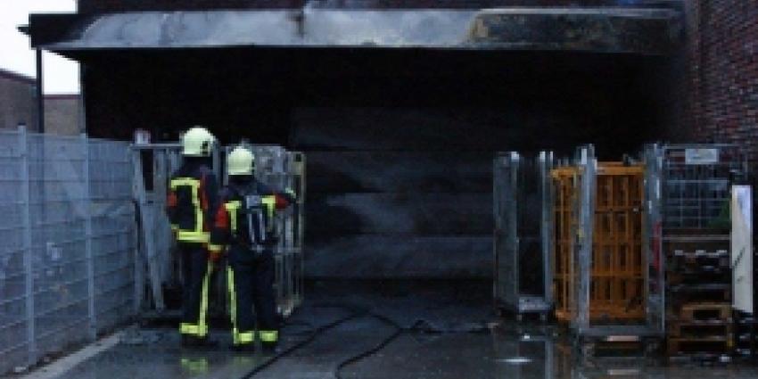 Brand veroorzaakt veel schade supermarkt Bad Nieuweschans