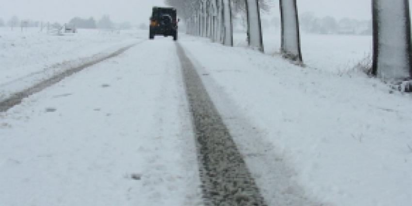 KNMI waarschuwt voor langdurige sneeuwval in het zuiden