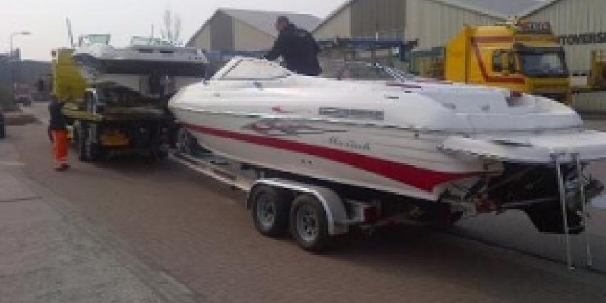 Dure boten in beslag genomen in onderzoek crimineel geld