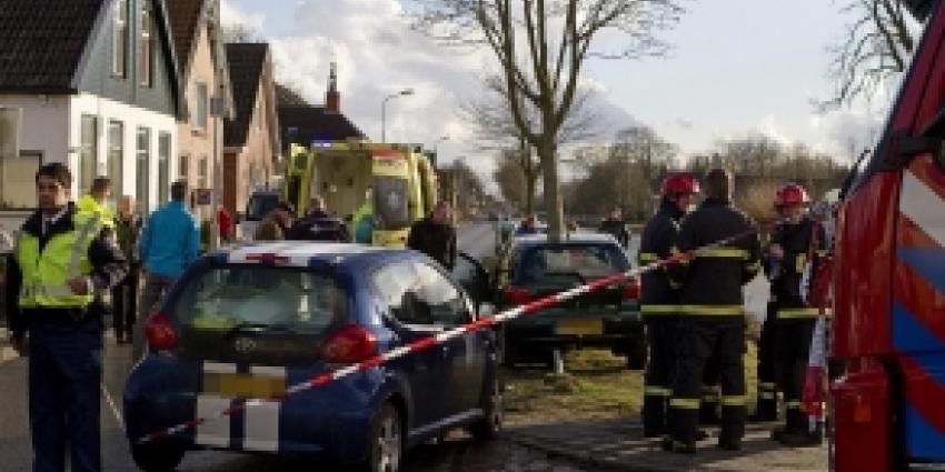 Gewonde bij ongeval in Wildervank