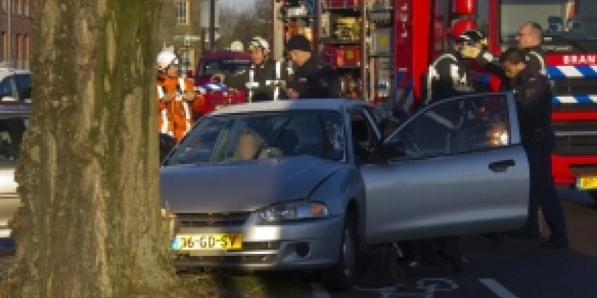 Twee gewonden bij eenzijdig ongeval in Vlaardingen