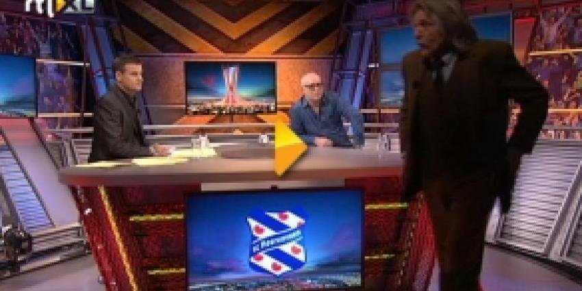 Johan Derksen en Wilfred Genee 'clashen' op live-tv