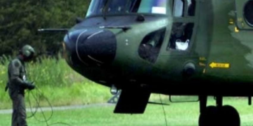 Laagvliegtrainingen helikopterbemanningen Maasvlakte