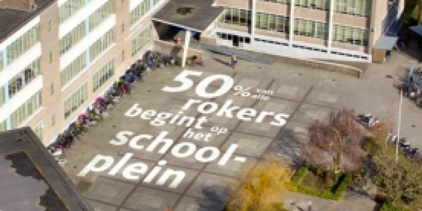 Longfonds wil alle scholen rookvrij