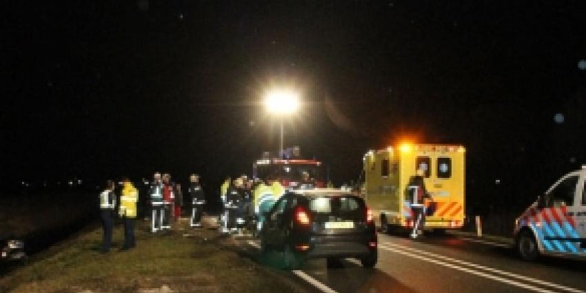 Automobilist om het leven gekomen bij ongeval
