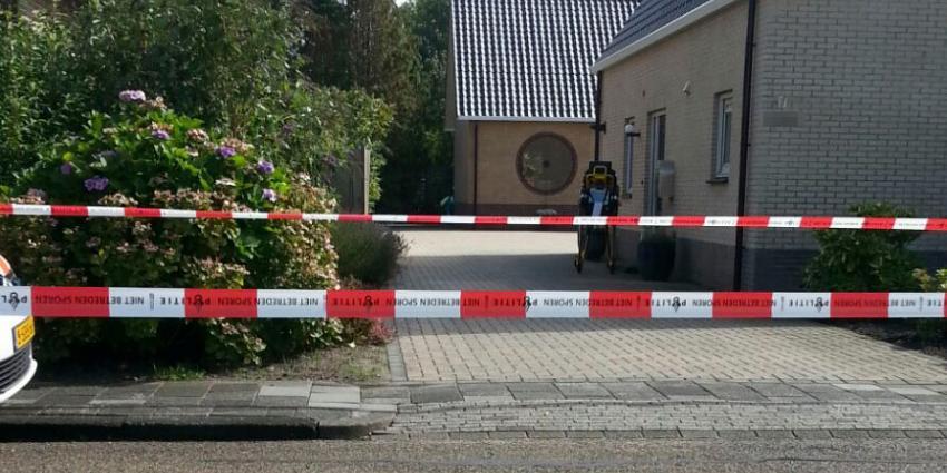 Bewoner dood gevonden in sloot achter huis in Wildervank
