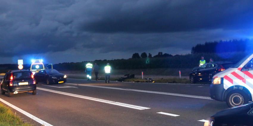 Gewonde bij ongeval op N34